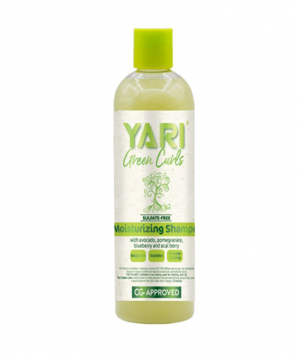 Yari Green Curls – Szulfátmentes sampon 355 ml