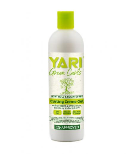 Yari Green Curls - Hajzselé göndör hajra 355 ml