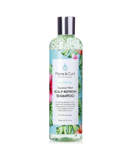 Flora & Curl – Coconut Mint revitalizáló sampon